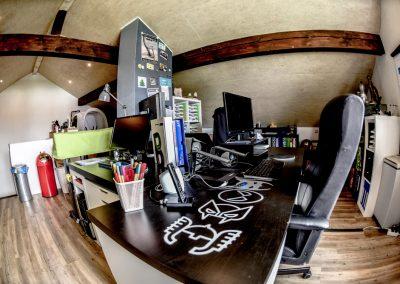 Werbeagentur Schreibtisch - Büro